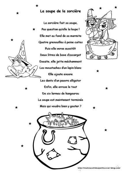 """.. """" La soupe de la sorcière """" ( histoire illustré + activité… Plus"""
