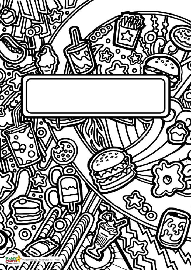 Food Book Cover Art : Best jens coloring pages images on pinterest