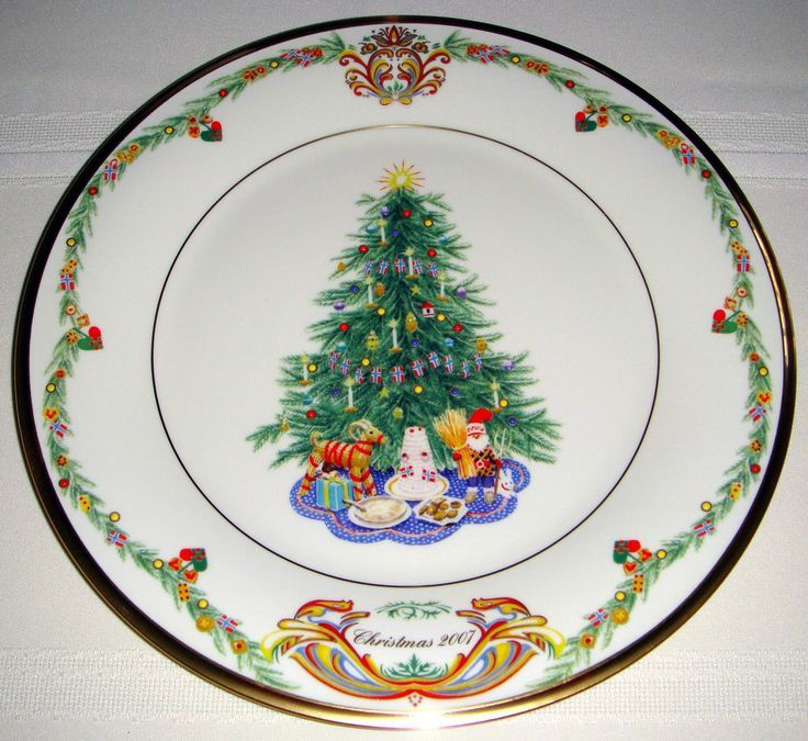christmas trees around the world by lenox china | Lenox China Christmas Trees Around The World & 13 best Christmas plates to collect images on Pinterest | Christmas ...