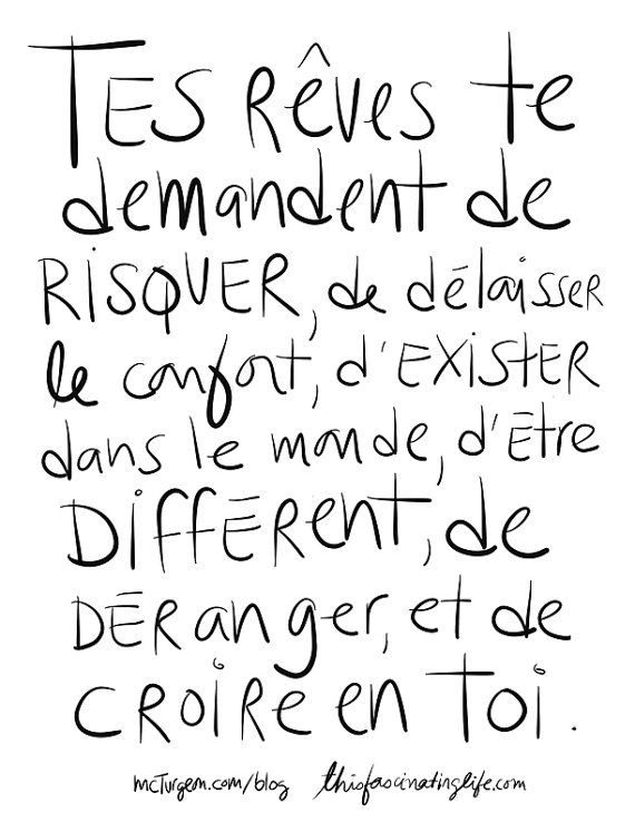 Tes rêves, A4 print by mcturgeon on Etsy, $18.00