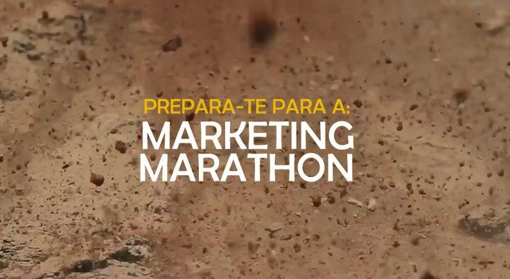 Não perca a 2ª edição da Marketing Marathon. 10 a 14 de Fevereiro - Porto www.marketingmarathon.pt