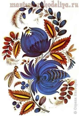 Роспись по дереву: Секреты петриковской росписи