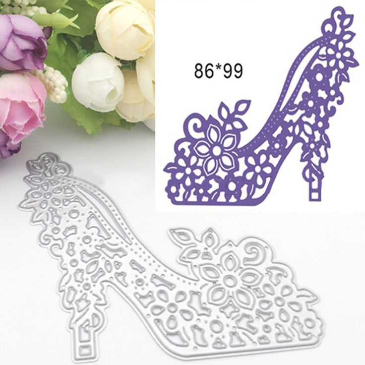 High Heels DIY Cutter Cutting Dies Stencils Scrapbooking Album Embossing Crafts | eBay