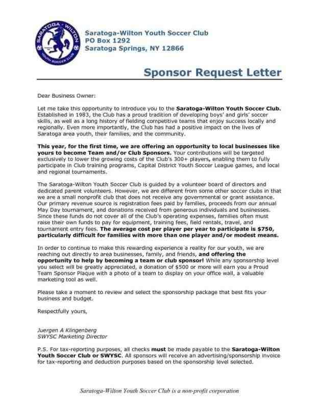 sponsorship request cover letter sponsorship letter. Black Bedroom Furniture Sets. Home Design Ideas