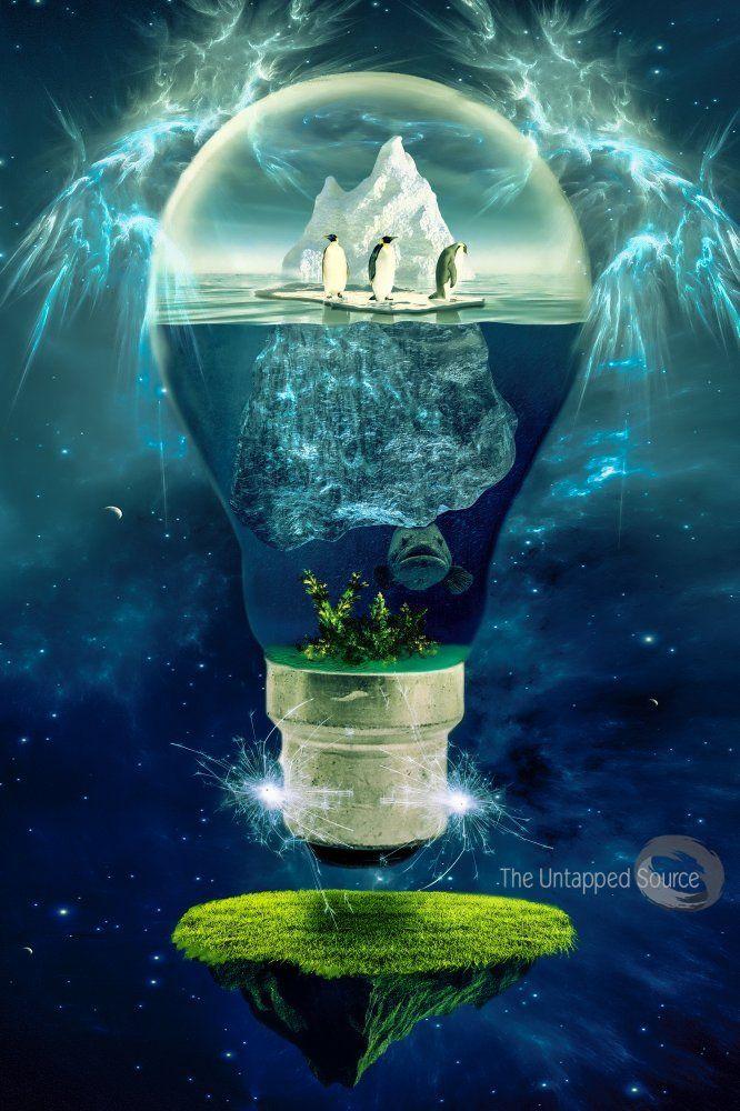 image.php 666×1,000 pixels Global warming art, Surreal