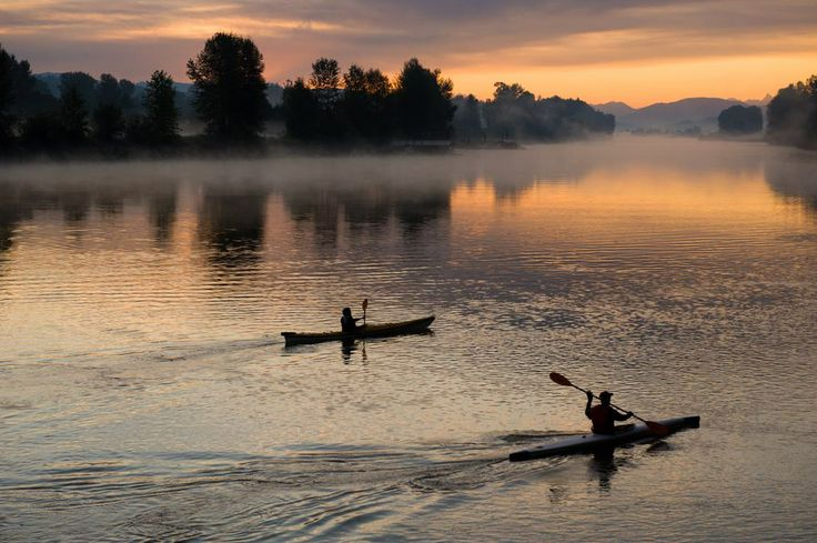 Enjoy Canoeing or Kayaking from your front door from May to August. #FortLangley #McBrideStation #LangleyFresh #RealEstate #BritishColumbia #NewDevelopment #FrontlineRealEstate