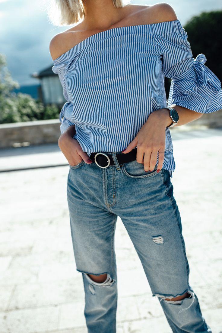 It-Piece der Saison: So easy kannst du die Off-Shoulder Bluse kombinieren! Off-Shoulder Bluse im Fokus: Wer kann wann und wo schulterfrei tragen?