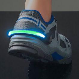 Acessório de Segurança com Luz LED para Sapatilhas GoFit