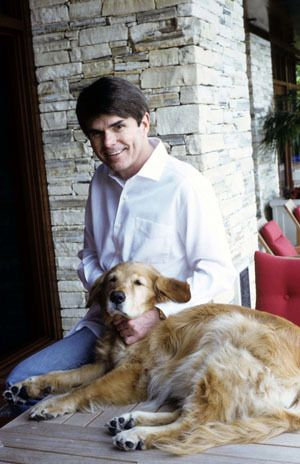 Writer Dean Koontz -- Dean and Gerta Koontz Foundation // Canine Companions for Independence  http://www.cci.org/site/apps/nlnet/content2.aspx?c=cdKGIRNqEmG&b=4134045&ct=731919 ONE of my favorite authors! c.c.