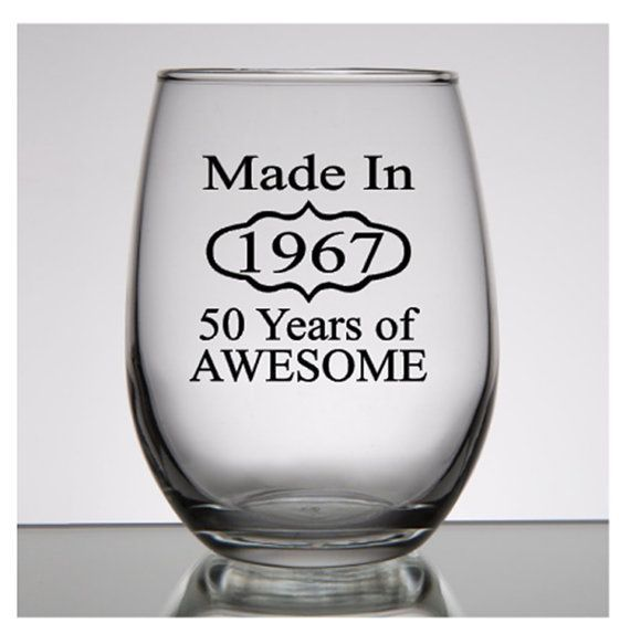 50th Birthday Gift For Women Made In 1967 By PersonalizedGiftsUS Gifts Man