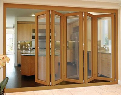 Stylish and practical bi-fold doors are a new solution when seeking free flowing access from indoors to your outdoor recreational areas.