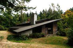 Griggs Residence Tacoma, Washington. Frank Lloyd Wright. Usonian. 1945