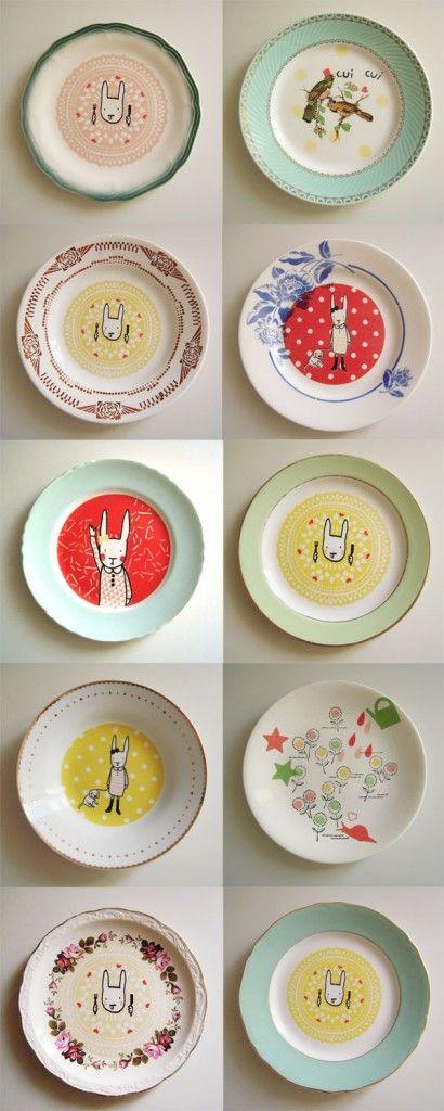 les assiettes revisitées de lapin citron