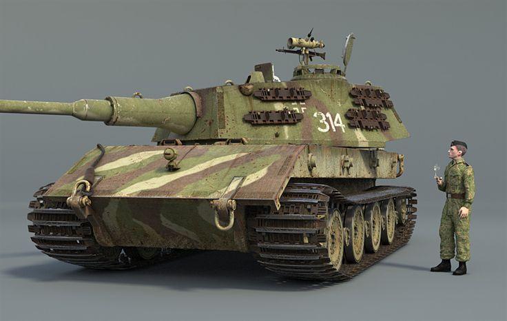 The Foundry Community :: Forums :: E-100 super heavy tank prototype