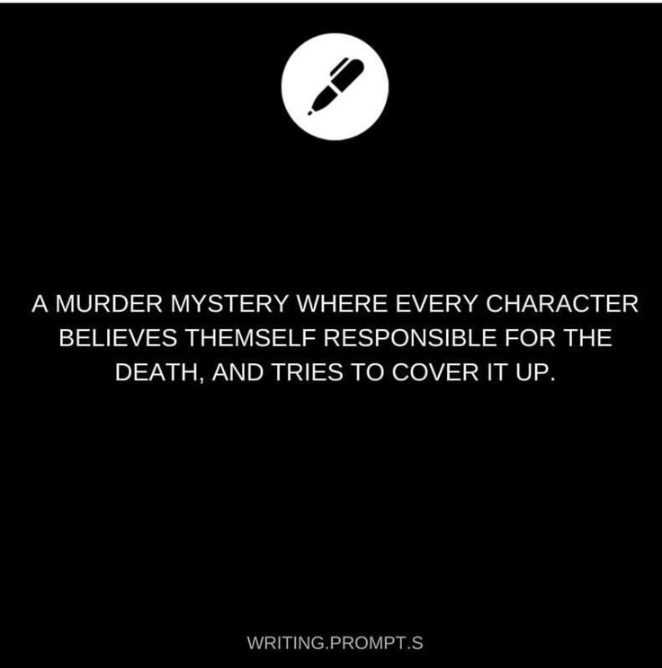 A murder mystery where every character believes themselves responsible for the death, and tries to cover it up.