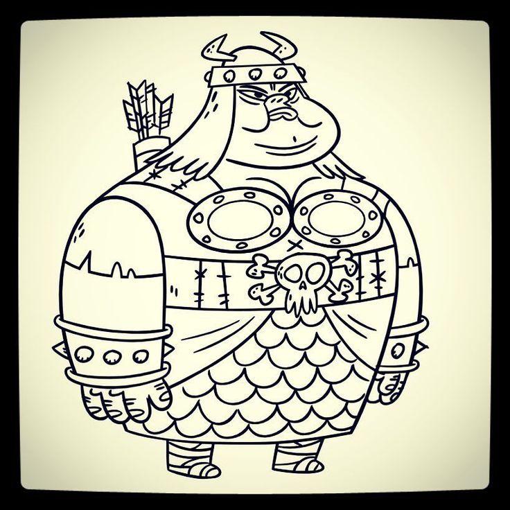 Skullbasher. Female barbarian.  #fangbone #chrgd #radicalsheep #disney #conceptart #characterdesign #animation #draw #sketch #illo #visdev #visualdevelopment #tvseries #cartoon #caveman #skullbasher #toddkauffman #neptoonfangbone #chrgd #radicalsheep #disney #conceptart #characterdesign #animation #draw #sketch #illo #visdev #visualdevelopment #tvseries #cartoon #caveman #skullbasher #toddkauffman #neptoon by toddkauffman13
