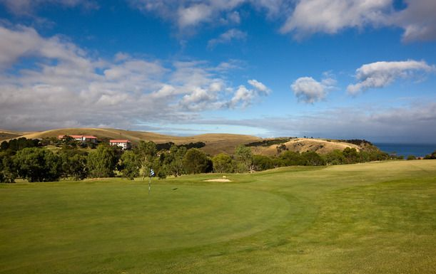 A superb opportunity to play one of the finest golf courses in South Australia! 18 holes for 2 players with a cart at The Wirrina Golf Resort! Includes a beer or soft drink. Normally $128, this offer $59 #SA #crazygolfdeals #golf http://crazygolfdeals.com.au/deals/south-australia--2?affiliate_code=twitter&utm_source=twitter&utm_medium=cpc&utm_campaign=twitter