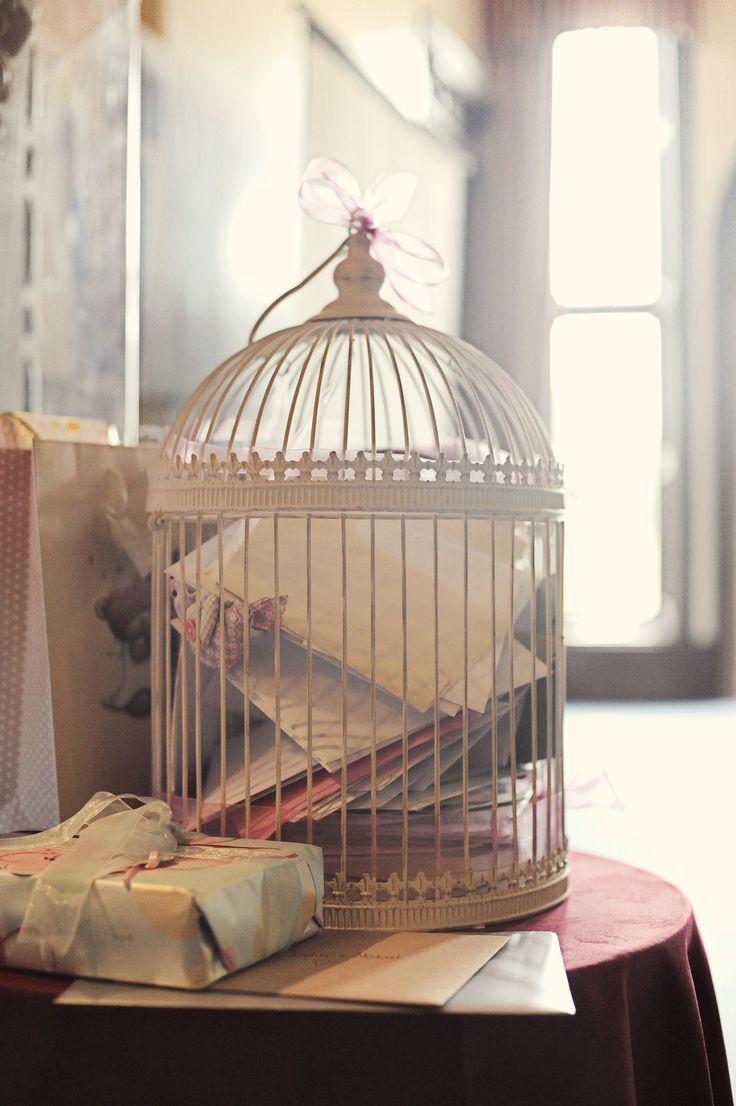 Birdcage for our cards