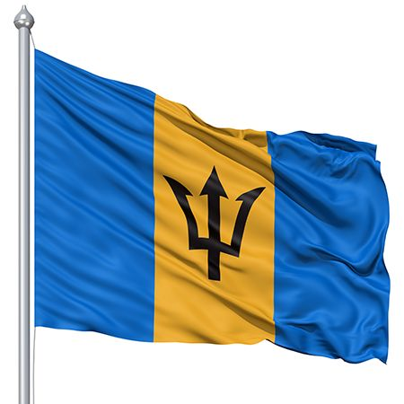 Barbados Flag Raising