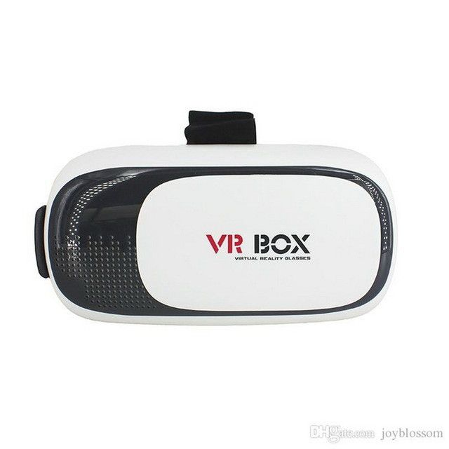2017 VR BOX II 2.0 VR Virtual Reality 3D Glasses Helmet Google Cardboard Headset Version for 4.0 - 5.5 inch Smart Phone iPhone