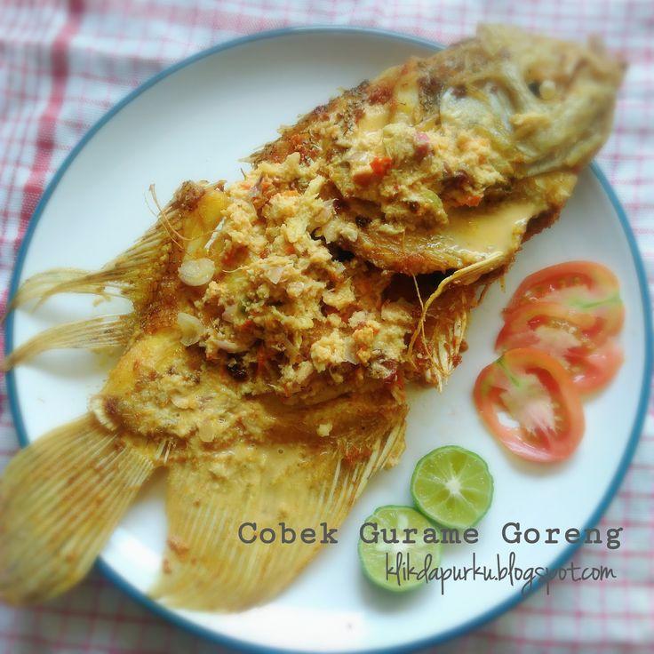Ikan Gurame atau Gurami memang sangat terkenal lezat. Menu ikan gurame banyak ditemui di rumah makan khas sunda dalam bentuk goreng, bakar,...