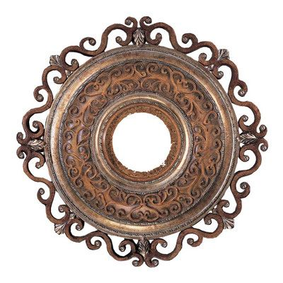 """Minka Aire Napoli 22"""" Ceiling Medallion in Tuscan Patina"""
