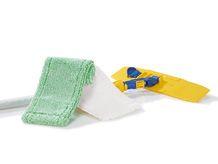 Wil je makkelijk je vloeren schoonmaken? Gebruik de JEMAKO vloerset groen laagpolig.