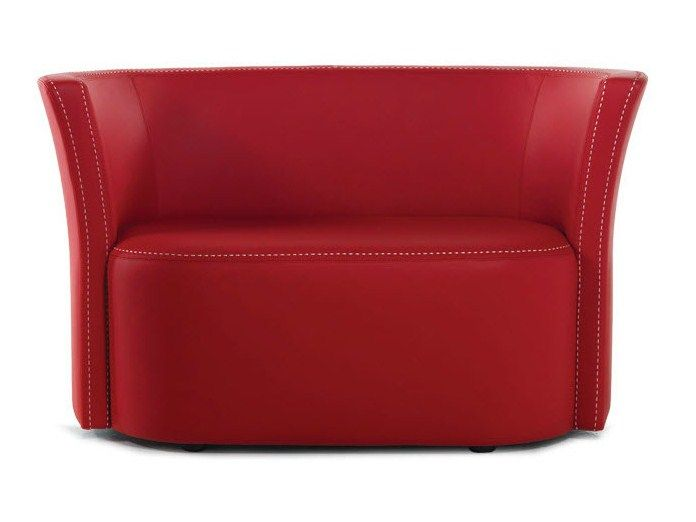 Leather Small Sofa FLUT | Small Sofa   Formenti