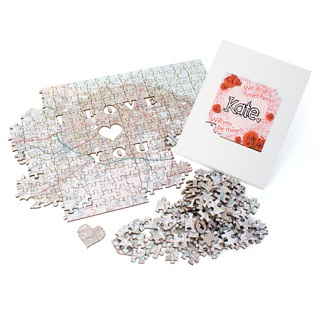 SO cute!    We First Met Here Postcode Puzzle at Firebox.com,  $47.09