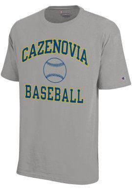 Men S Cazenovia College Baseball T Shirt Bookstore