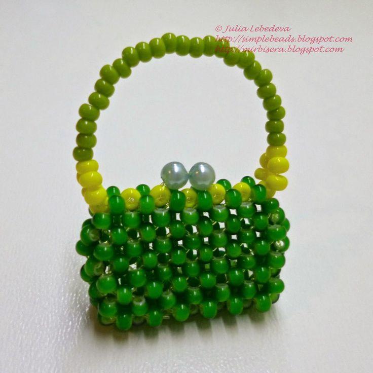 213 best Borsette perline images on Pinterest | Beaded bags ...