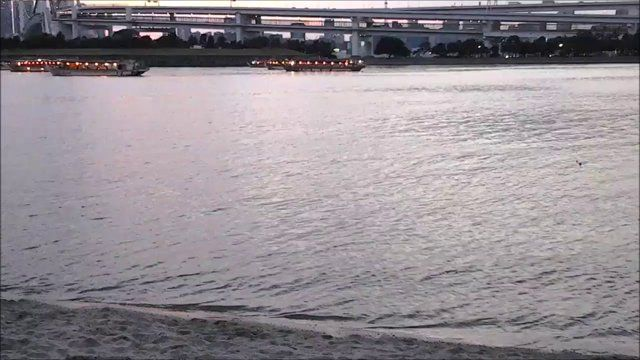 お台場海浜公園の夕景 (2014/08/03) on Vimeo