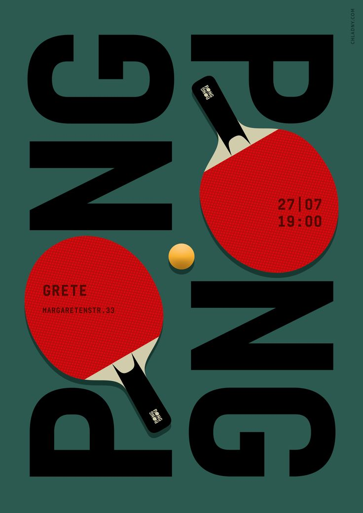 Ping Pong by Christian Chladny