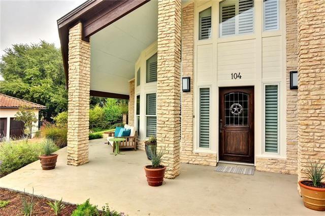 104 Adventurer Northwest Travis Co Lakeway Tx 78734 Austin Real Estate Lakeway Patios