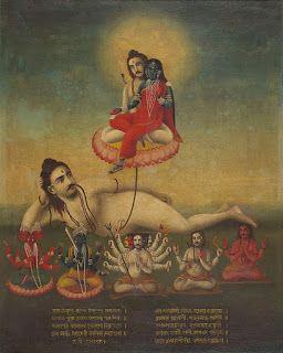 ИНИЦИАЦИИ СВЫШЕ : Шива и Шакти в бенгальской живописи.