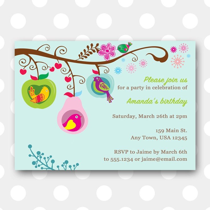 78 best Party ideas images on Pinterest At home, Baby things and - fresh invitation for birthday party by email