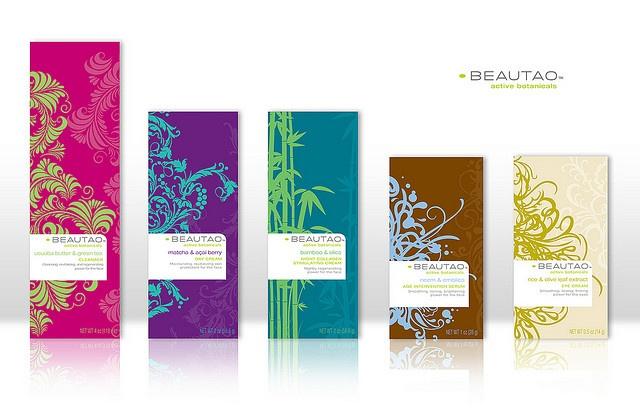 Beautao Skincare packaging    http://mitchelbrands.com/
