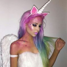 what is more magical than unicorn hair only a unicorn costume and makeup to match - Best Halloween Costumes Female