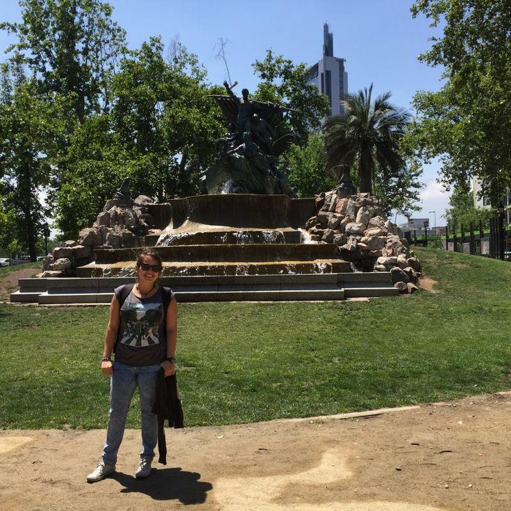 Fuente Alemana - Santiago de Chile German Font - Santiago of Chile #SCL