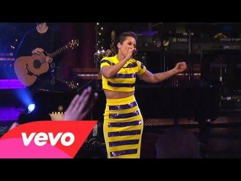 No One - Alicia Keys (Live on Letterman)