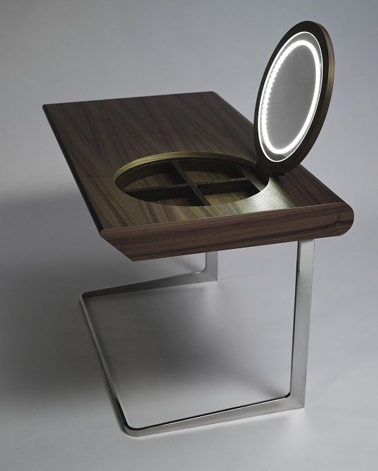 Modern Wooden Dressing Table With Mirror / China Bedroom Sets For Sale From  Shenzhen Qixing Crafts Co.