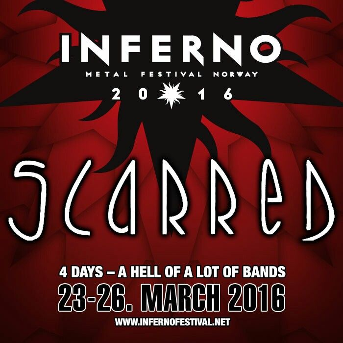 Scarred to Inferno Metal Festival 2016!