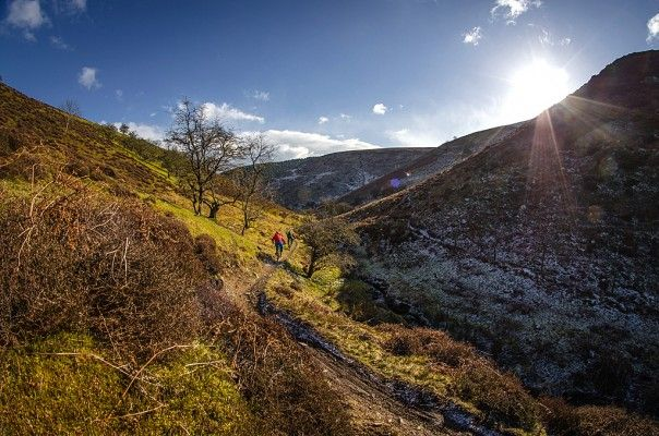 Long Mynd GPS route download - MBR