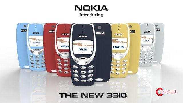 Akhir-akhir ini beredar kabar mengenai ponsel Nokia 3310 yang bakal lahir kembali tepatnya pada akhir bulan Februari 2017. Seperti yang kita ketahui bahwa perusahaan Nokia telah kembali ke industri ponsel dan memiliki rencana untuk merilis kembali ponsel legendarisnya, yaitu Nokia 3310. http://www.qurtifawijaya.com/2017/02/wow-ponsel-jadul-nokia-3310-hadir-kembali.html