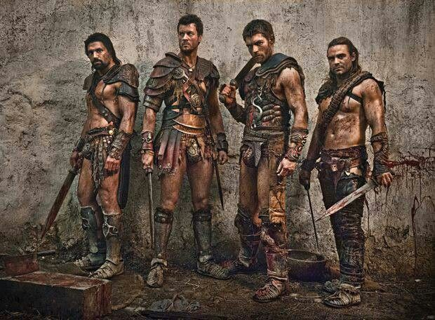 Spartacus: War of the Damned. They sure do grow them pretty Down Under.