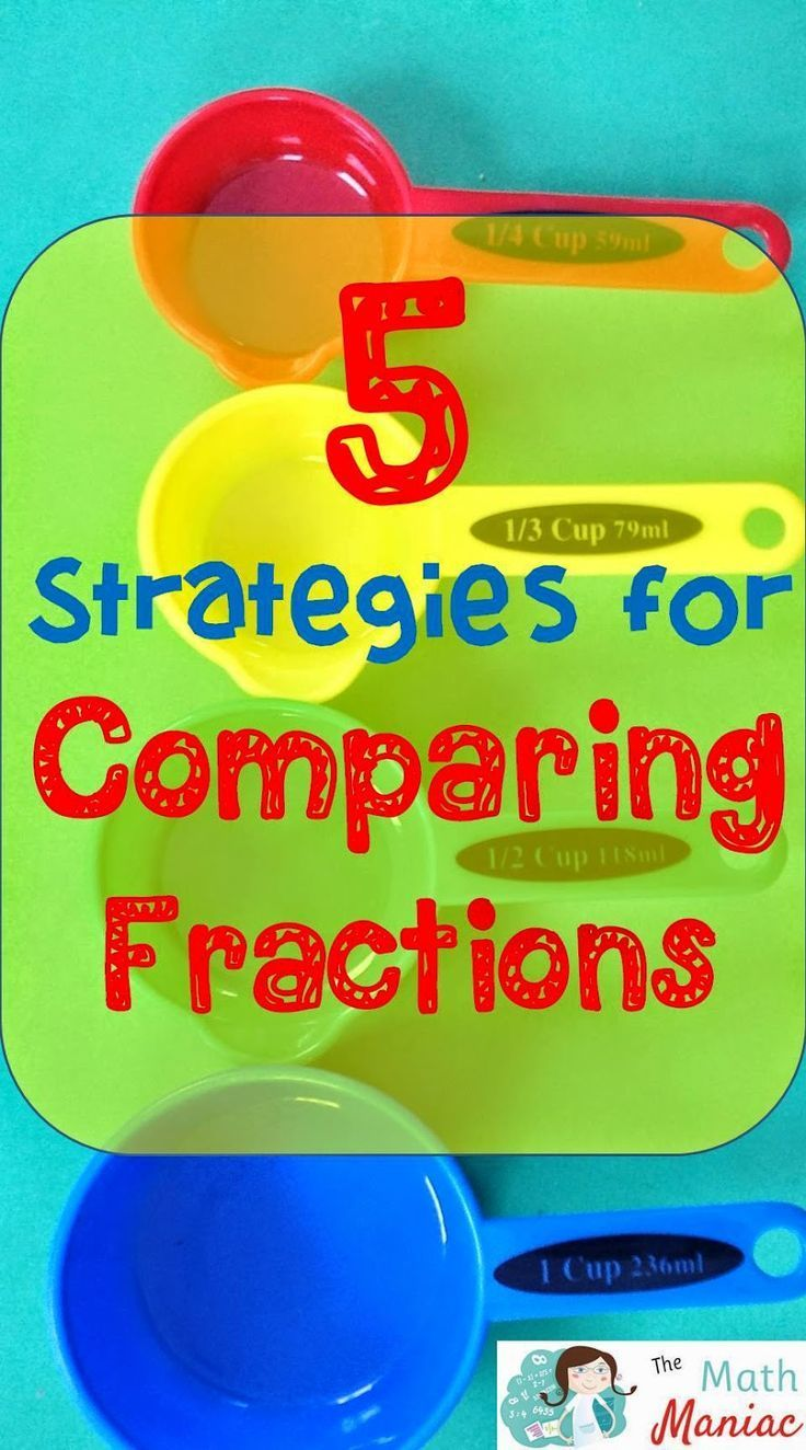 There Are So Many Ways Topare Fractions! Check Out These 5 Efficient  Strategies That