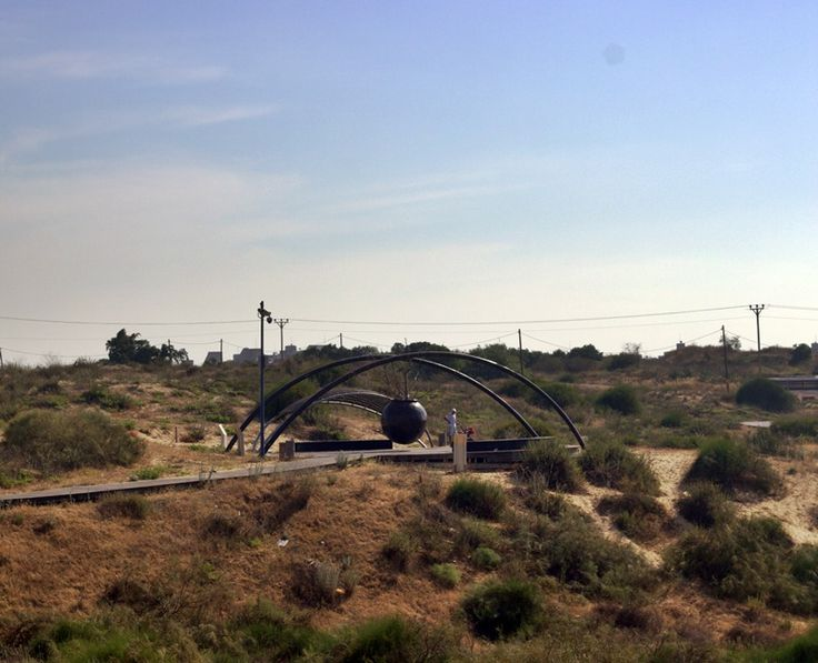 Dune park in Holon #Holon
