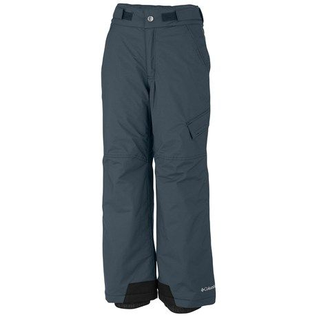 Columbia Sportswear Ice Slope Snow Pants - Insulated (For Toddlers) in Mystery