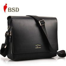 Men Messenger Bags 2016 Designer Leather Briefcases Famous Brand High Quality Shoulder Bag Office
