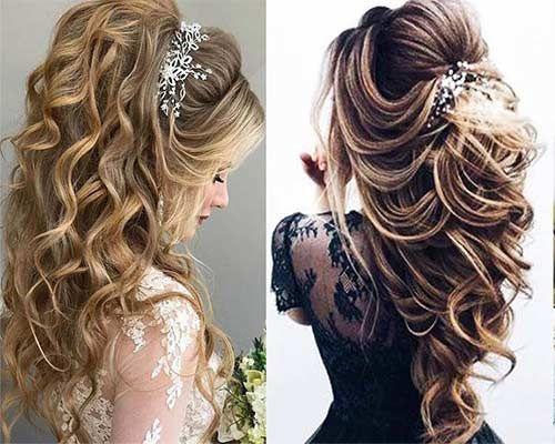 تسريحات عرايس للشعر الطويل تساريح فخمة Beauty Cute Beauty Hair Care And Styling